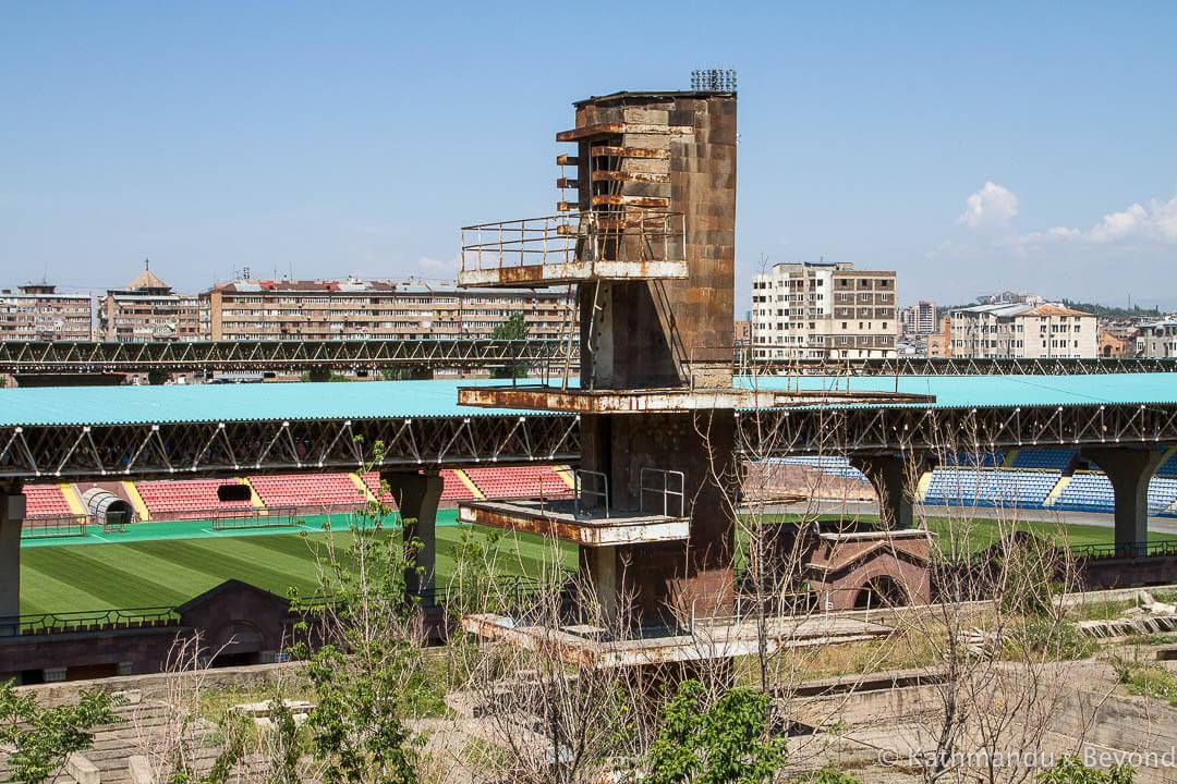 Abandoned Armenia A Former Swimming Pool In Yerevan