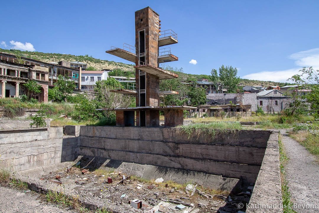 Abandoned Armenia A Former Swimming Pool In Yerevan