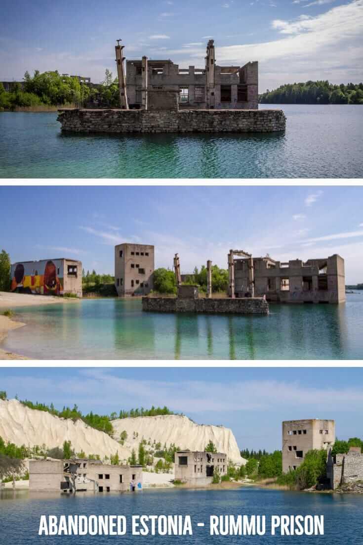 Abandoned Estonia - Rummu Underwater Prison