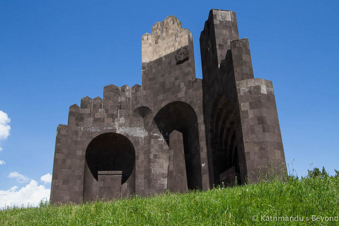 Monument to the Battle of Bash-Aparan Aparan Armenia