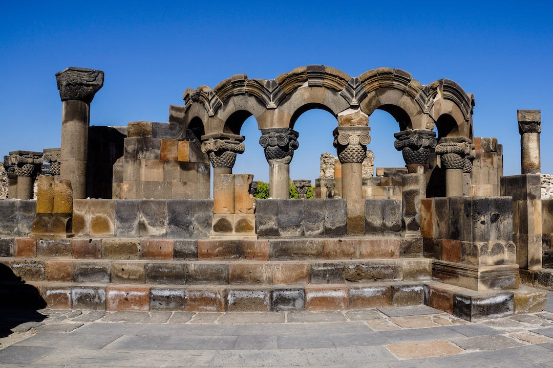 Zvartnots Cathedral | Day trips from Yerevan