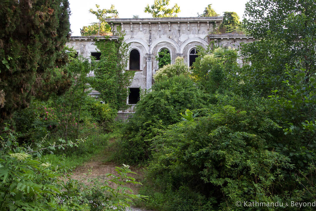 The Sanatorium of the Ministry of Defence of the USSR Eshera Abkhazia-6