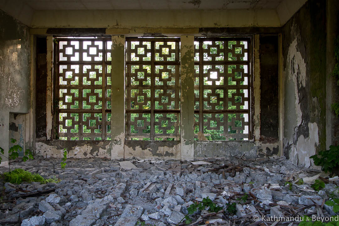 The Sanatorium of the Ministry of Defence of the USSR Eshera Abkhazia-9