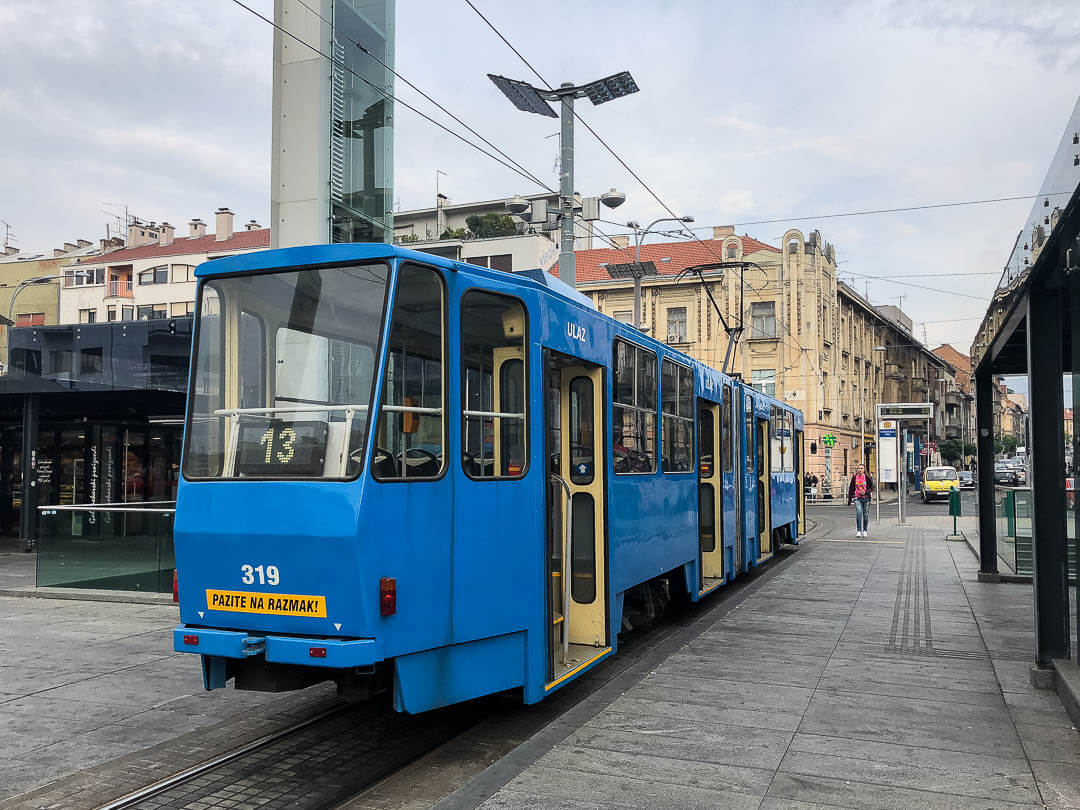 The Cheapest Way To Get From Zagreb City Centre To The Airport