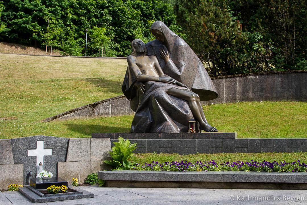 Antakalnis Cemetery Vilnius Lithuania-16