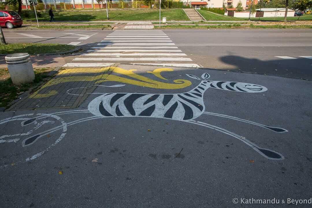 Street Art in Borik, Banja Luka, Bosnia and Herzegovina