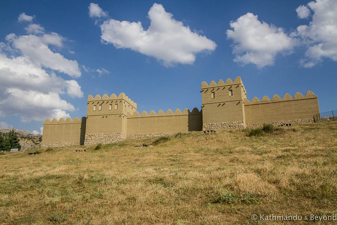 City Walls (reconstruction) Hattusa Turkey