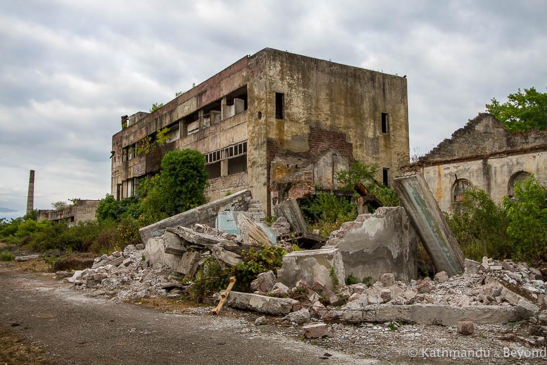 Former Factory Ochamchire Abkhazia-2