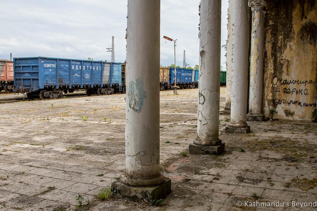Ochamchire Railway Station Ochamchire Abkhazia-10