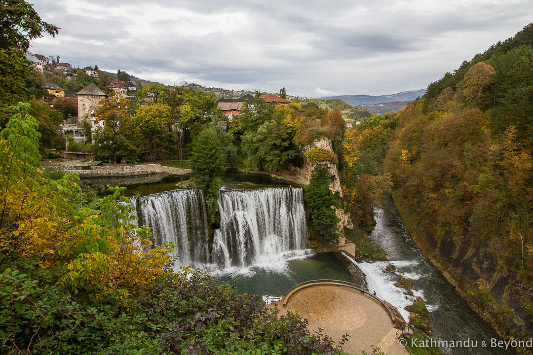 Pliva Waterfall Jajce Bosnia and Herzegovina-2