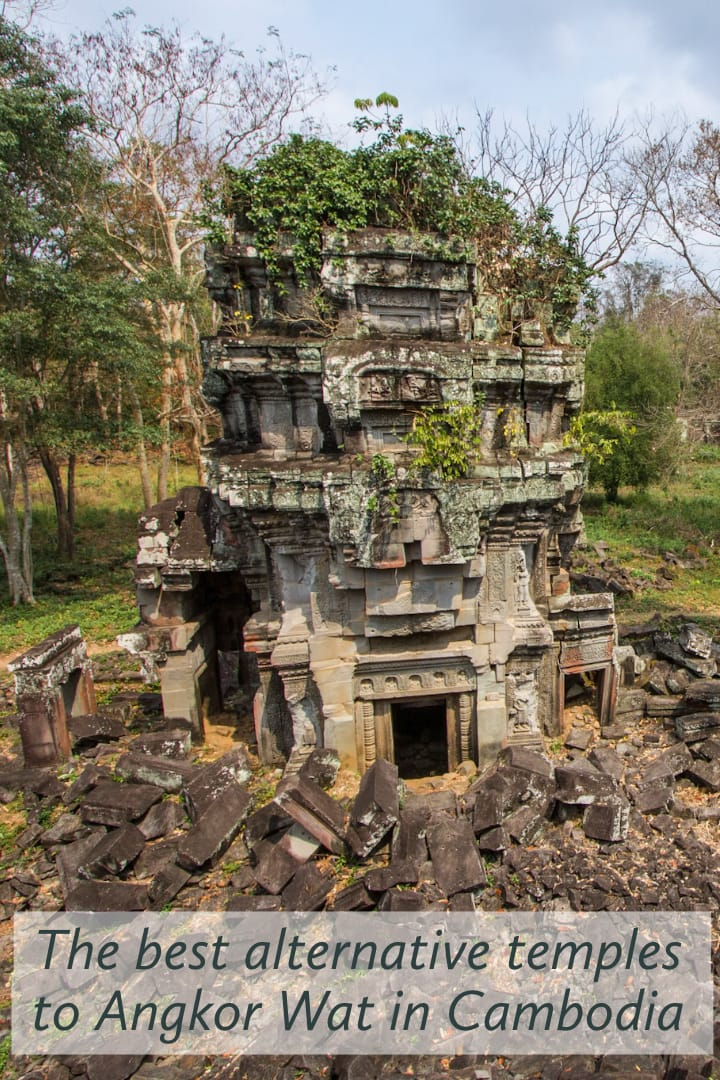 The best alternative temples to Angkor Wat in #Cambodia #Angkor #travel #SEAsia #southeastasia #temples #angkorian #UNESCO #culture