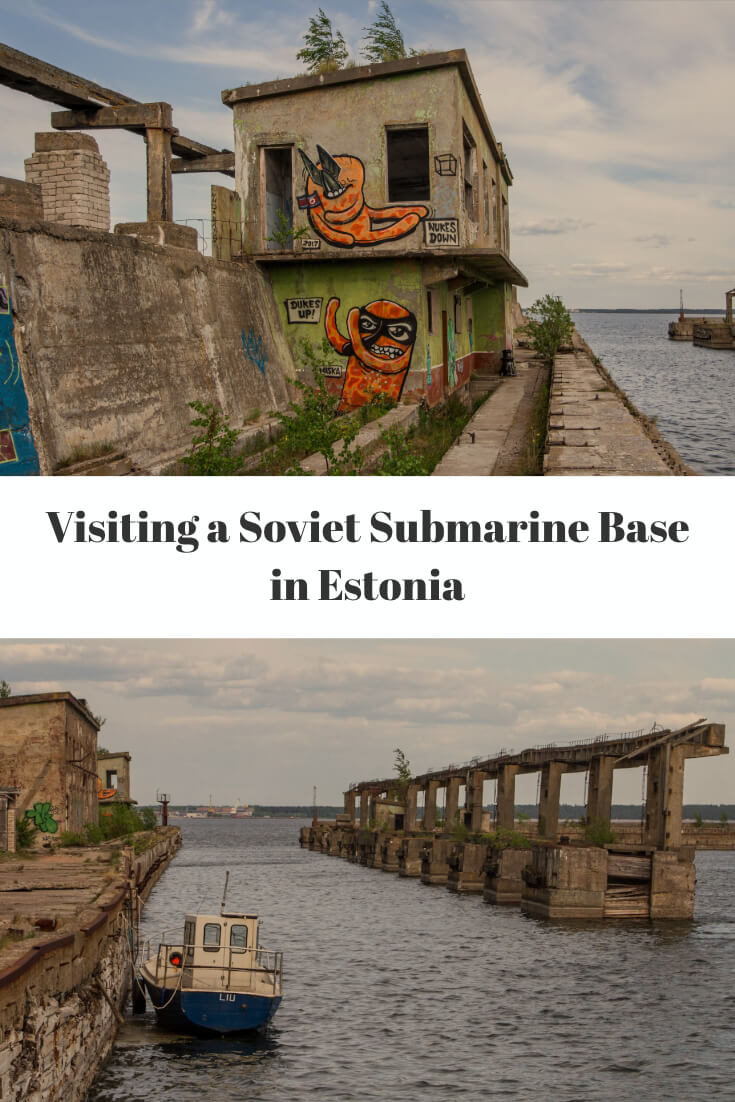 Visiting a Soviet Submarine Base in #Estonia #travel #Baltics #Europe #traveltips #URBEX #abandonedplaces #Soviet #europetravel