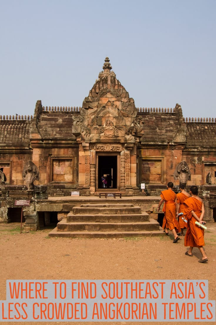 Where to find Southeast Asia's less crowded Angkorian temples #Cambodia #Thailand #Laos #Angkor #travel #SEAsia #southeastasia #temples #angkorian #UNESCO #culture