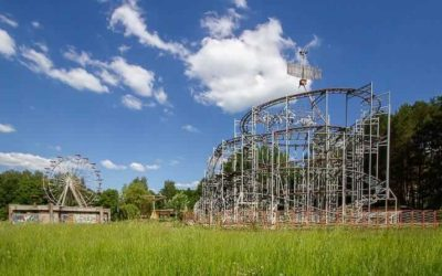 Abandoned Lithuania: Children's World (Jet Star 2) Amusement Park in Elektrenai