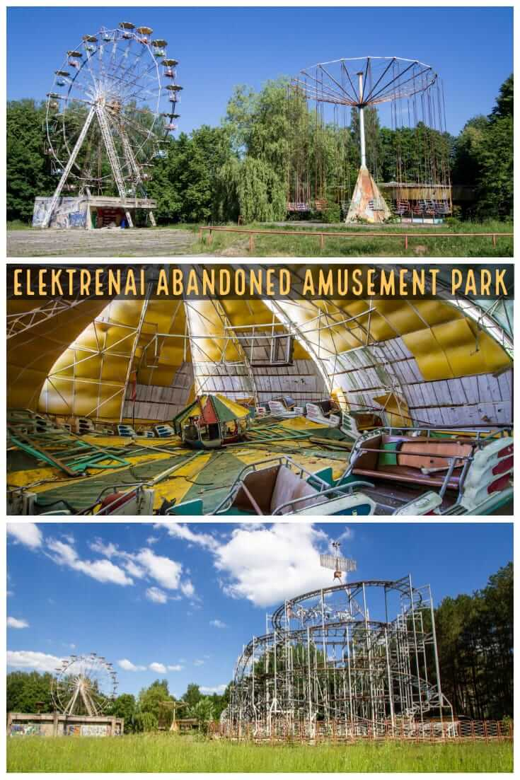 An Abandoned Amusement Park In Elektrenai Lithuania Jet Star 2