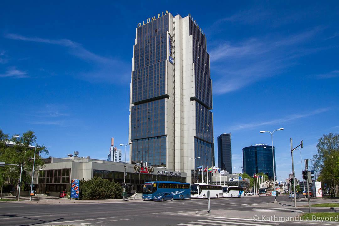 Hotel Olumpia in Tallinn, Estonia | Modernist | Soviet architecture | former USSR