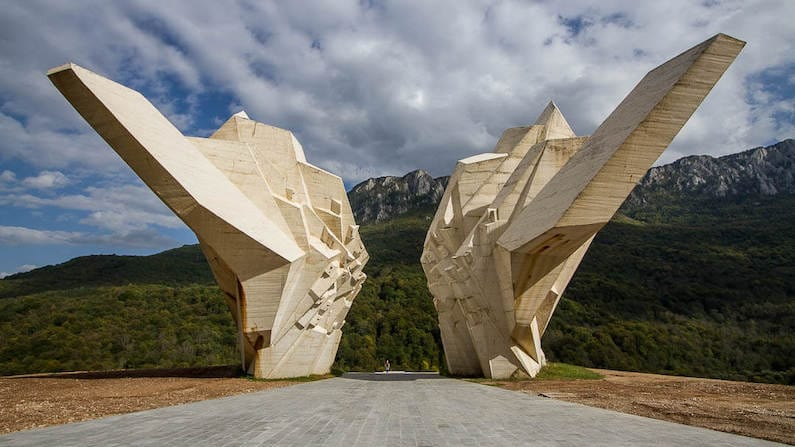 In photos: twenty-five of the most striking spomeniks in the Balkans