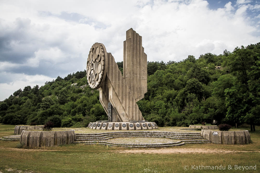 Monument to Fallen Soldiers (Monument on Trebjesa) Niksic Montenegro-1