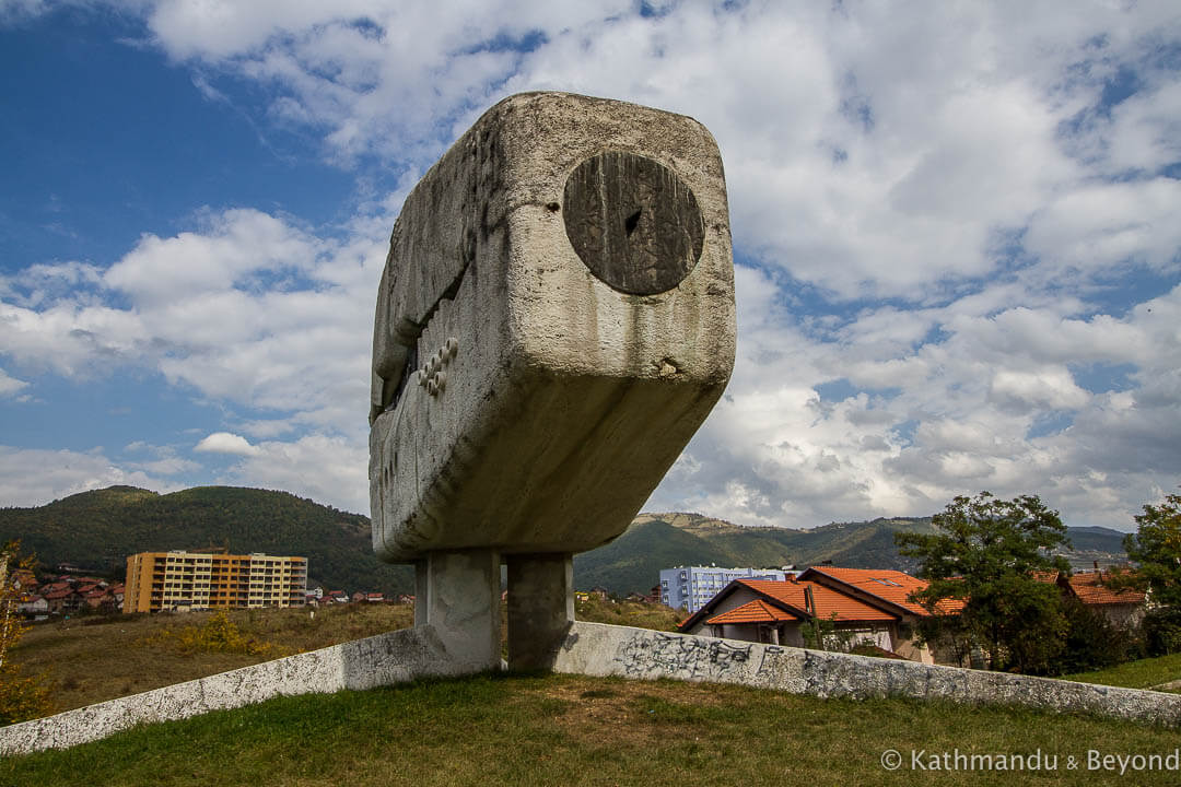 Monument to the Fallen Fighters of People's Liberation War Vogosca Bosnia and Herzegovina-4