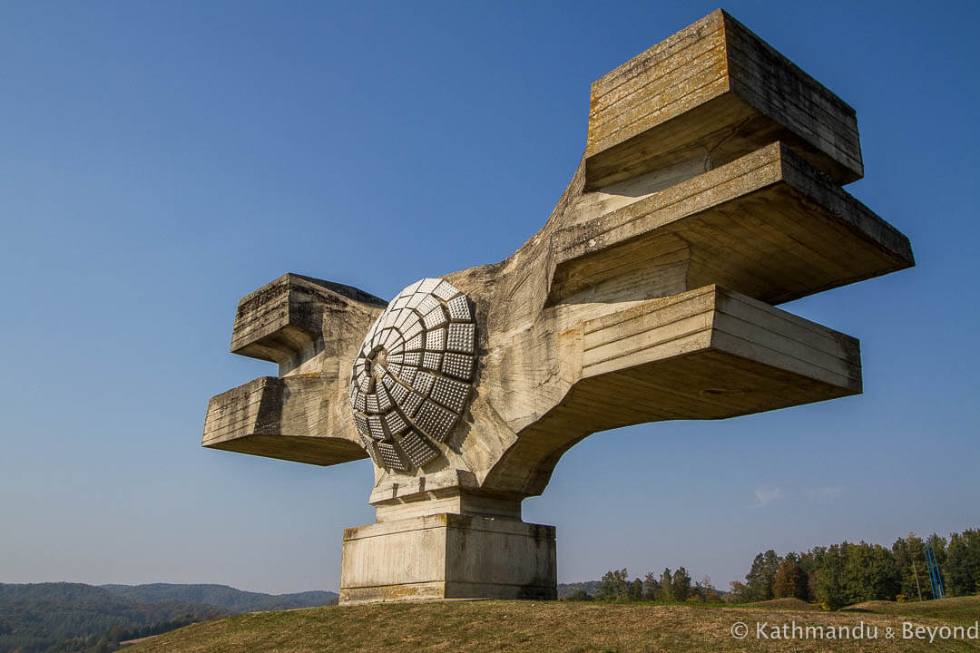 Monument to the Revolution of the People of Moslavina Podgaric Croatia-7