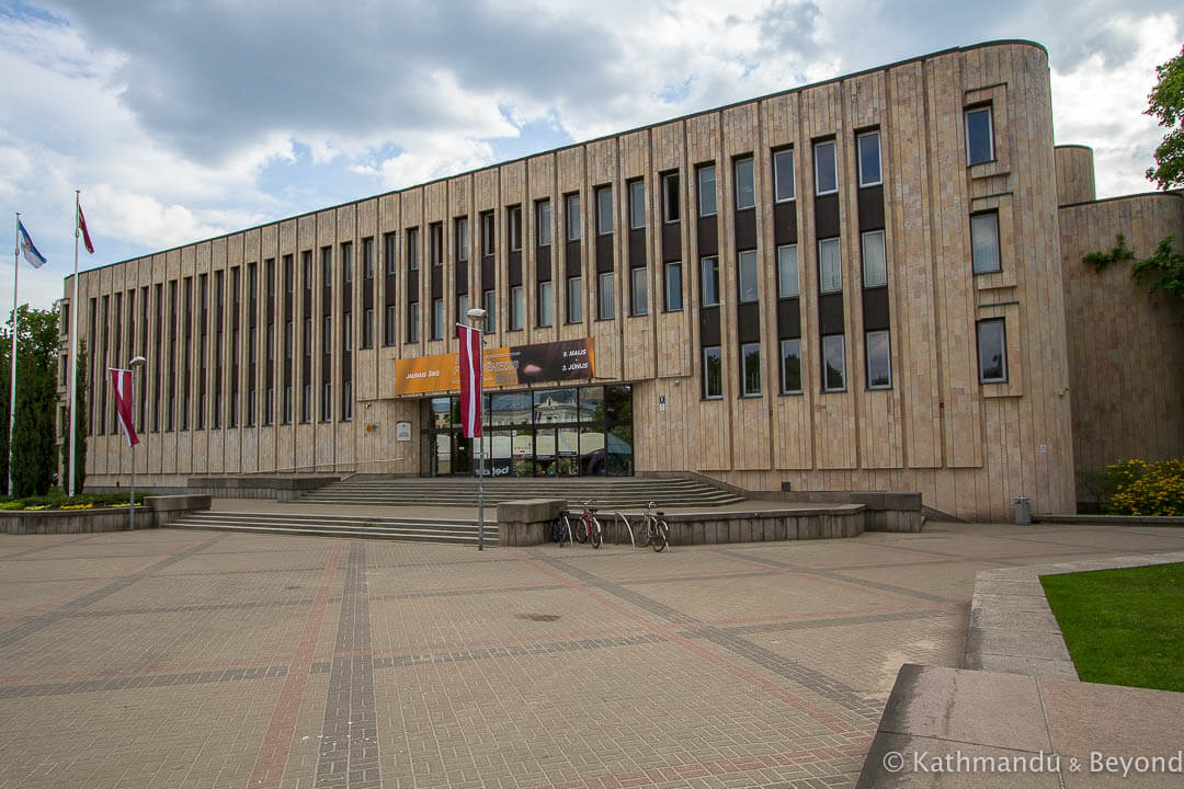 Riga Congress Centre (former House of Political Education) in Riga, Latvia | Brutalist | Soviet architecture | former USSR