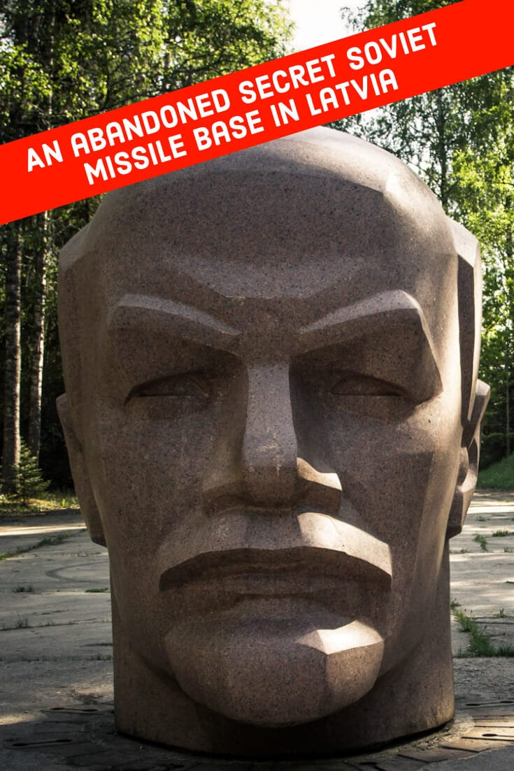 Visiting Zeltini Missile Base #travel #latvia #zeltini #missilebase #leninstatue #offthebeatenpath #europe #baltics #balticstates #darktourism #abandonedplaces #lenin