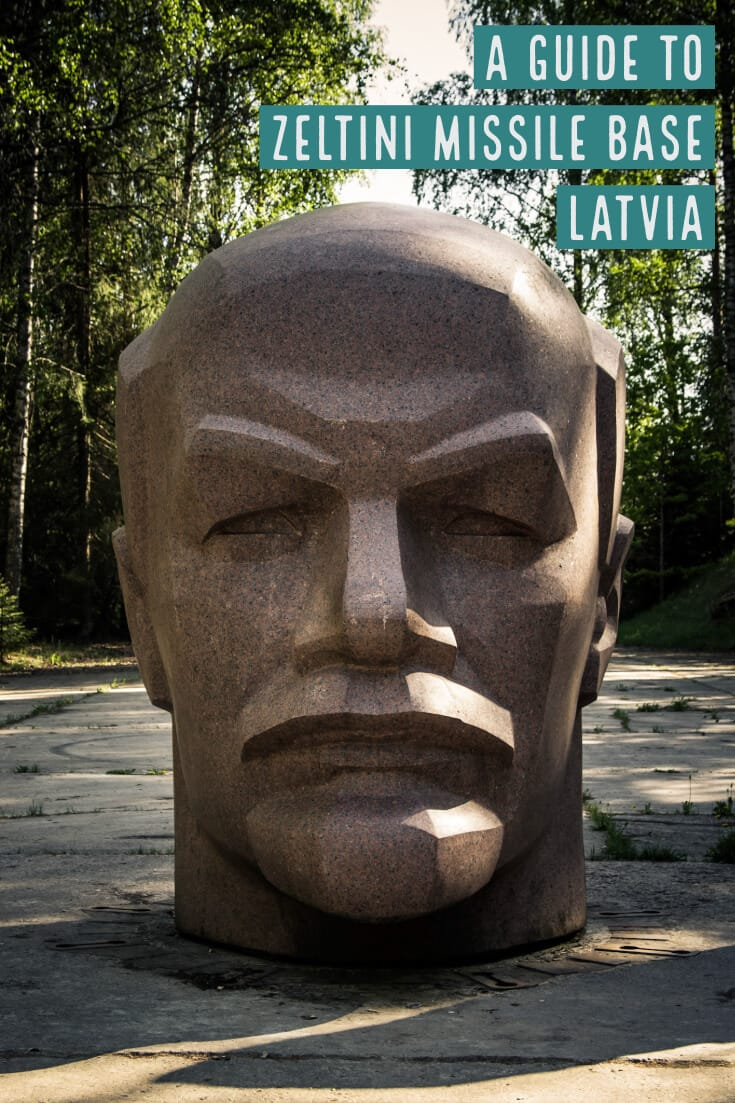 Visiting Zeltini Missile Base #travel #latvia #zeltini #missilebase #leninstatue #offthebeatenpath #europe #baltics #balticstates #darktourism #lenin