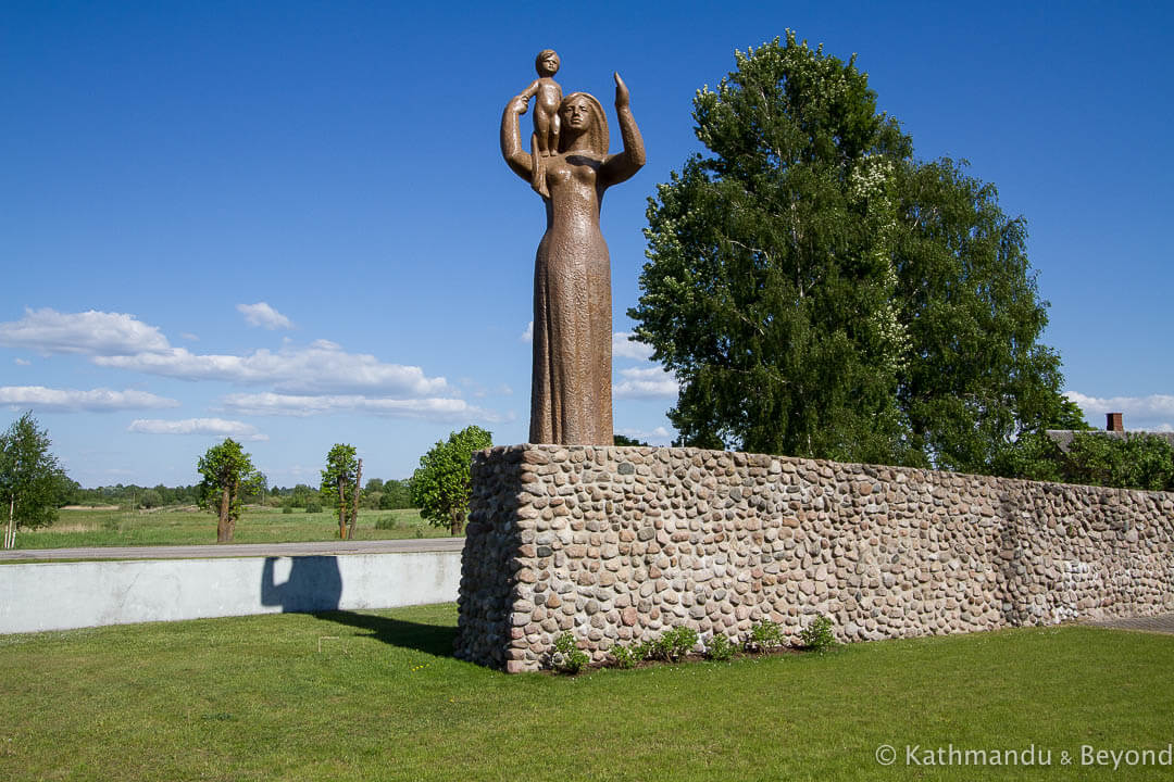 World War II Memorial Salacgriva Latvia