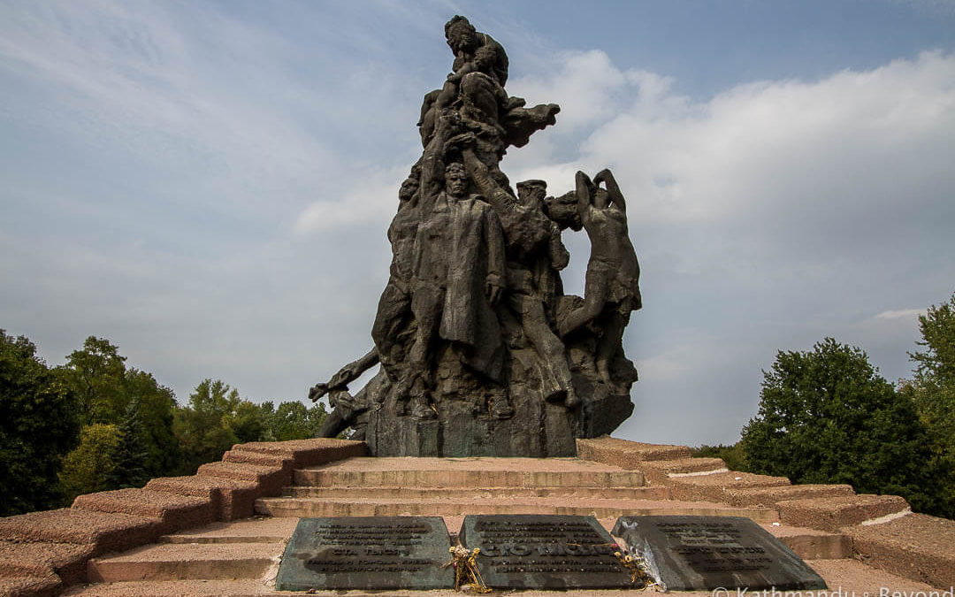Monument to Victims of Nazism, Babyn Yar Memorial Park