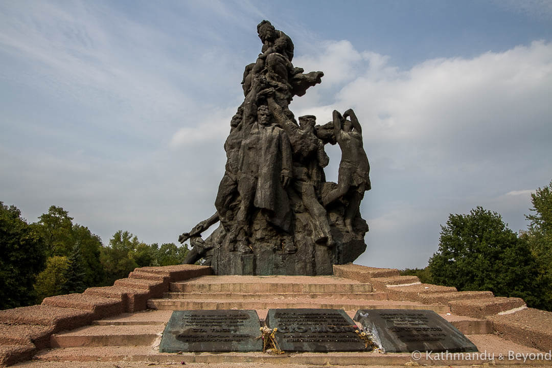 Monument to Victims of Nazism Babyn Yar Memorial Park Kiev Ukraine (8)