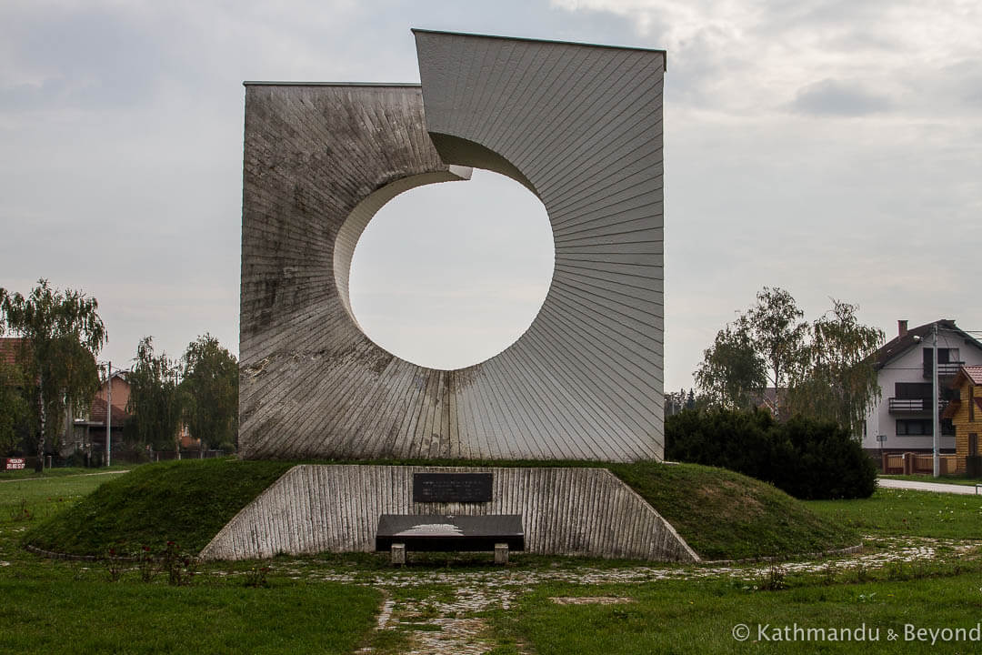 'Broken Ring' in Pleso, Croatia | Spomenik | Socialist memorial | former Yugoslavia