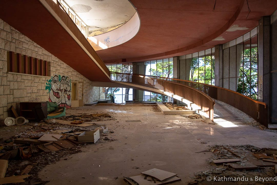 Abandoned Children's Resort Krvavica (Children's Maritime Military Health Resort of Insured Persons) Croatia