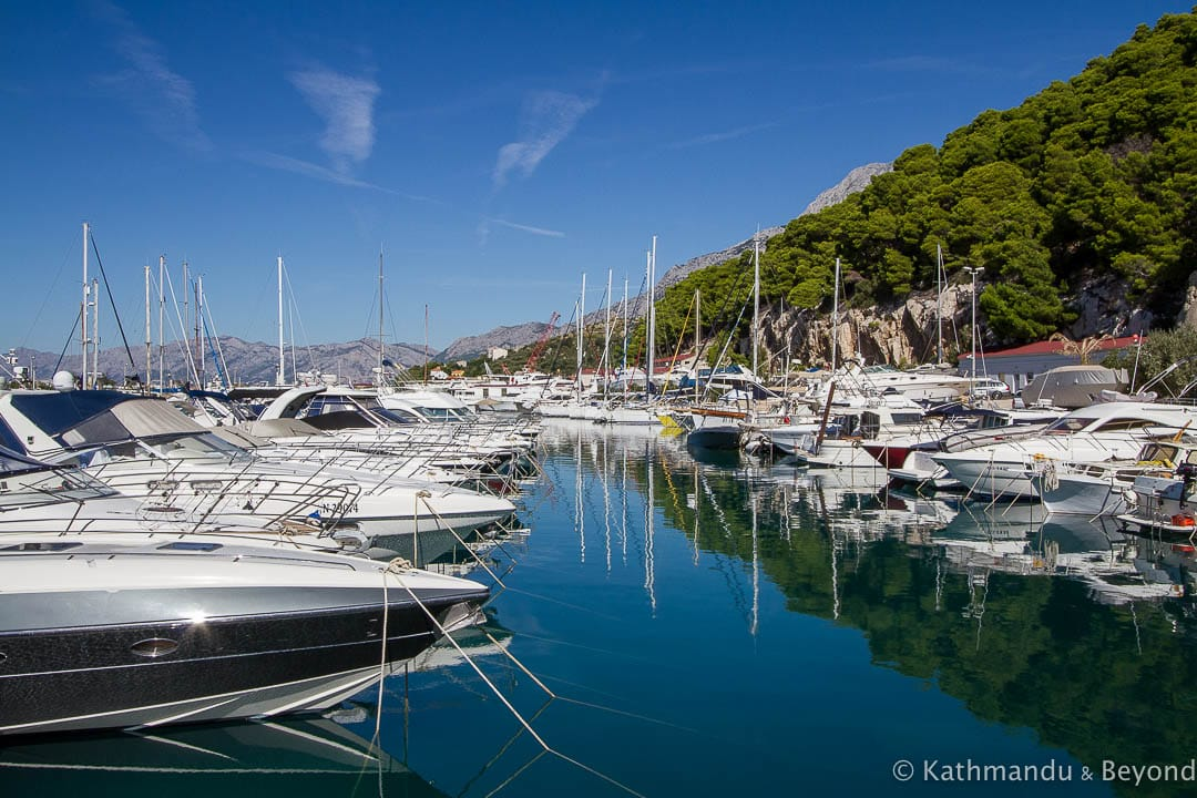 Harbour, Krvavica Croatia