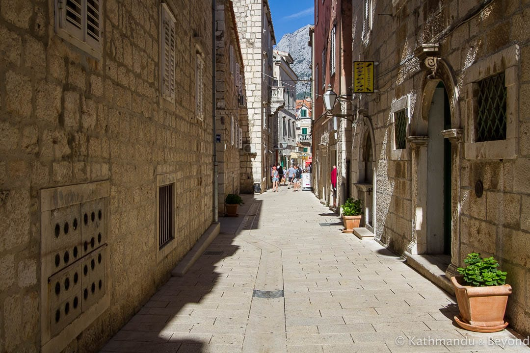 Old Town Makarska, Croatia - Best Places to Stay in Croatia between Split and Dubrovnik