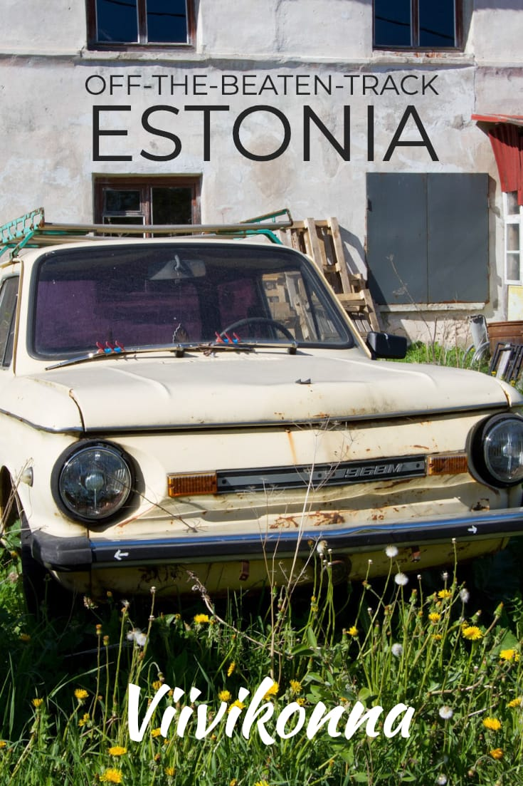Off-the-beaten-track Estonia_ Visiting the former mining town of Viivikonna #abandonedplaces #ghosttowns #formerussr #urbex #estonia #balticstates #baltics #europe #urbandecay #oldcars #classiccar