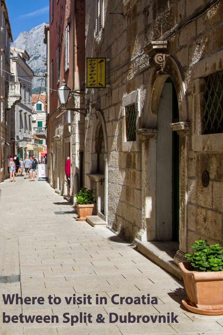 Our suggestions of where to visit on the Dubrovnik to Split drive in #Croatia #travel #Balkans #carhire