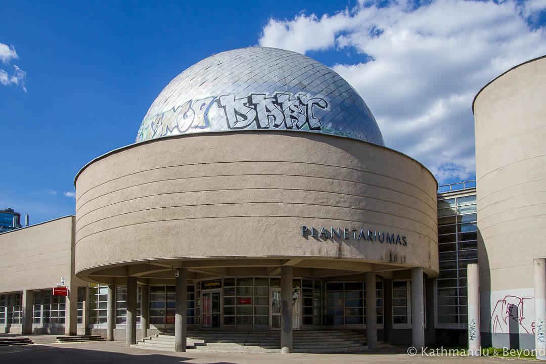 Planetarium of Vilnius University in Vilnius, Lithuania | Modernist | Soviet architecture | former USSR