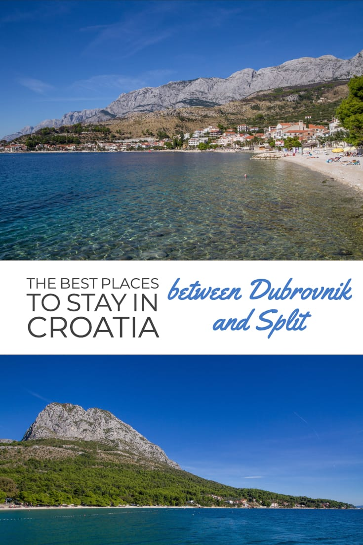 The Best Places to Stay in Croatia between Dubrovnik and Split #travel #Croatia #selfdrive #placestovisit