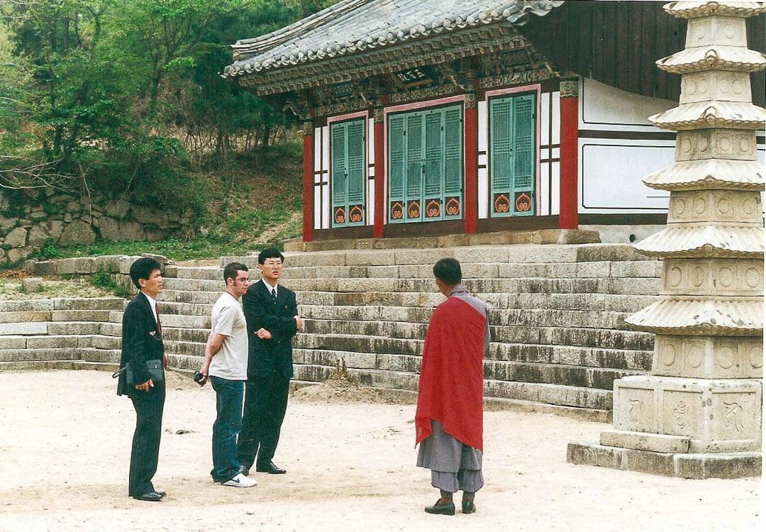 Tomb of King Kongmin Kaesong City North Korea 1