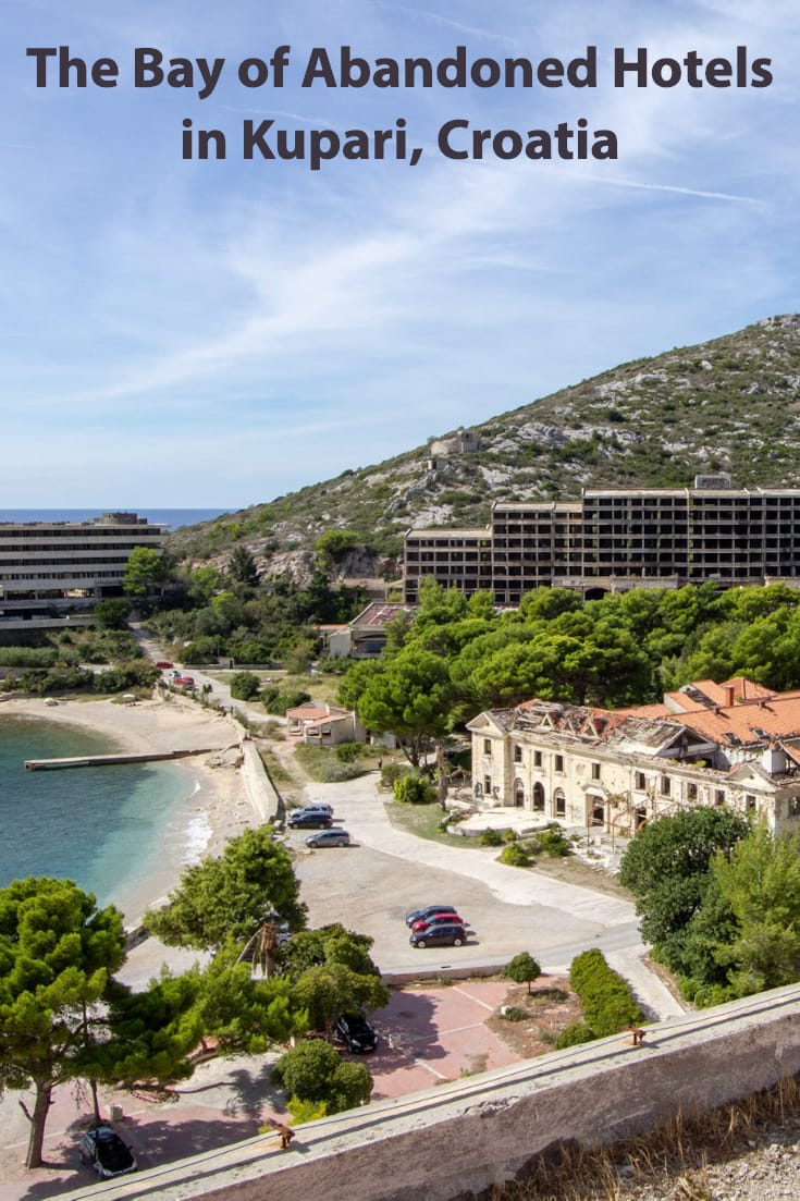 Visiting the Bay of Abandoned Hotels in Kupari #Croatia #travel #abandonedplaces #urbex #europe