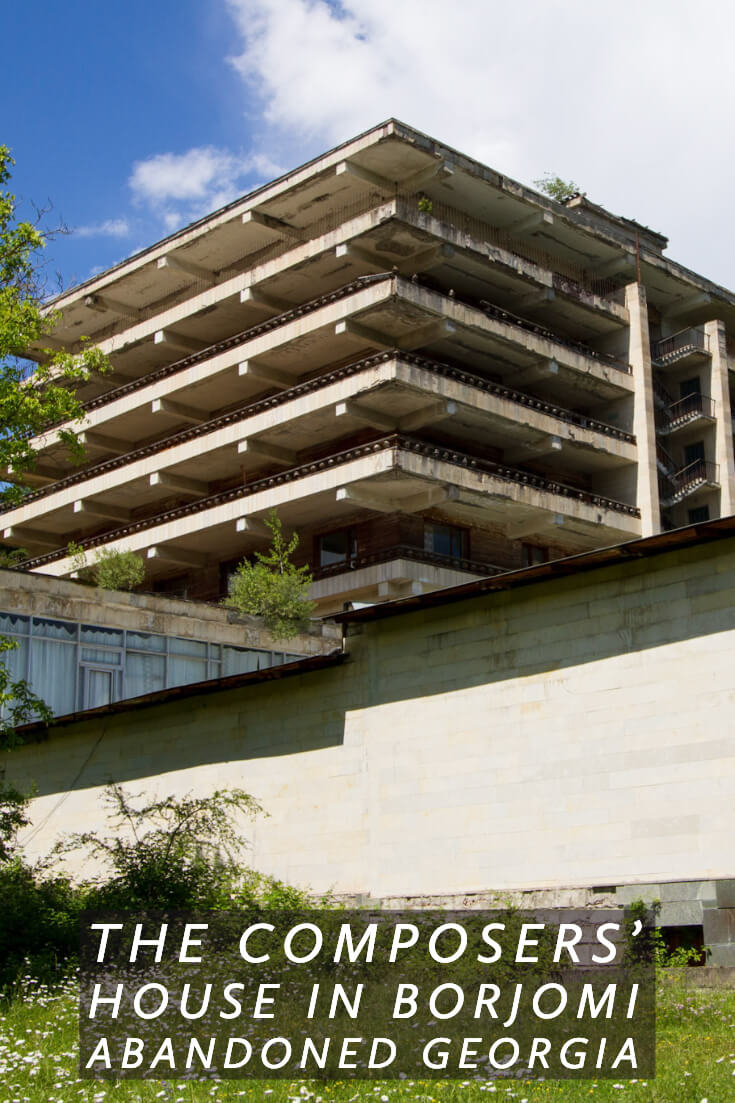 Abandoned Georgia - the Composers' House in Borjomi #caucasus #travel #abandonedplaces #formerussr #sovietera #abandonedresorts
