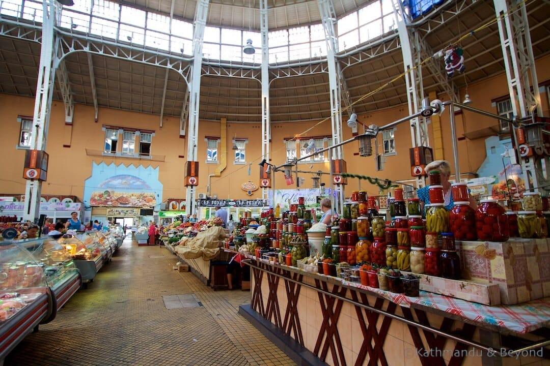 Besarabsky Market Kiev Ukraine