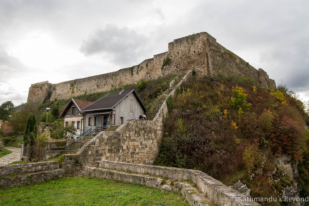 Citadel Jajce Bosnia and Herzegovina