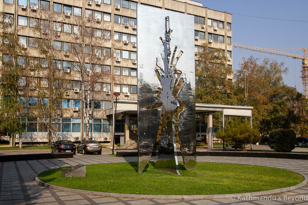 Memorial to the victims of Jasenovac Banja Luka Bosnia and Herzegovina-2