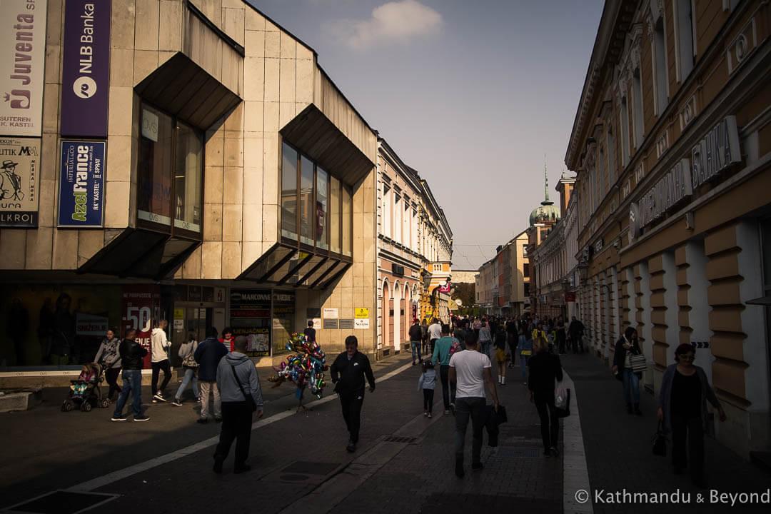 Promenade (Gospodska Street) Banja Luka Bosnia and Herzegovina