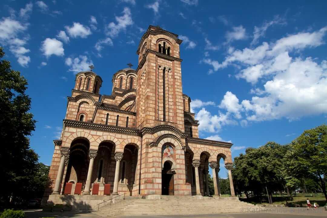St. Mark's Church Belgrade Serbia