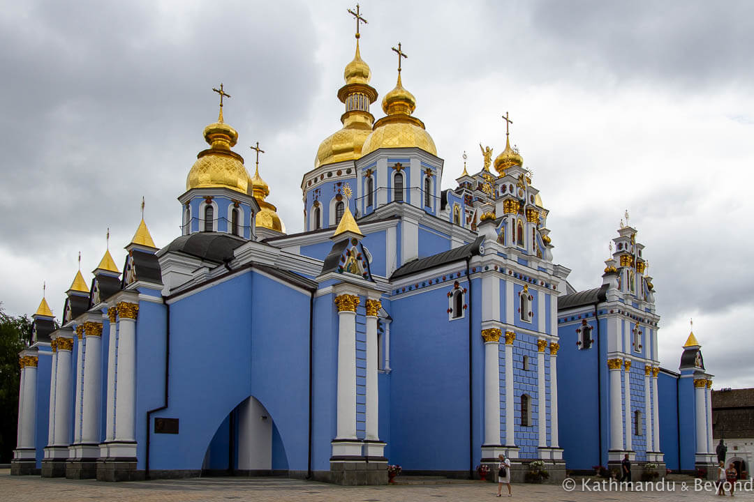 St. Michael's Golden-Domed Monastery Kiev Ukraine-1-2 (1)
