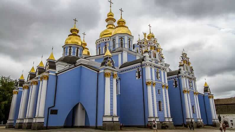 St. Michaels Golden Domed Monastery Kiev, Ukraine - Things to do in Kiev