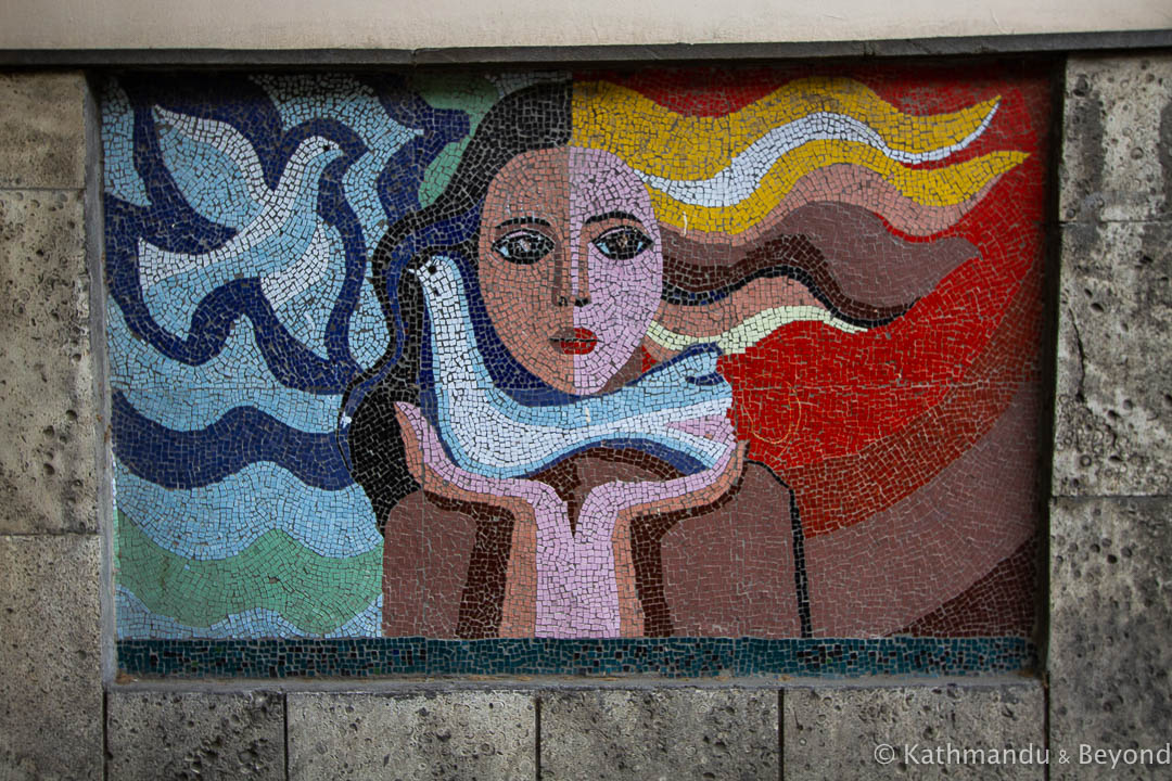 Peace Dove Mosaic Tbilisi Georgia-18