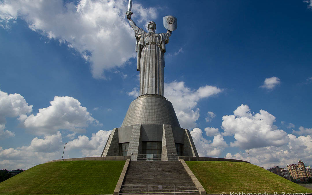 The Motherland Monument, Museum of The History of Ukraine in World War II Memorial Complex